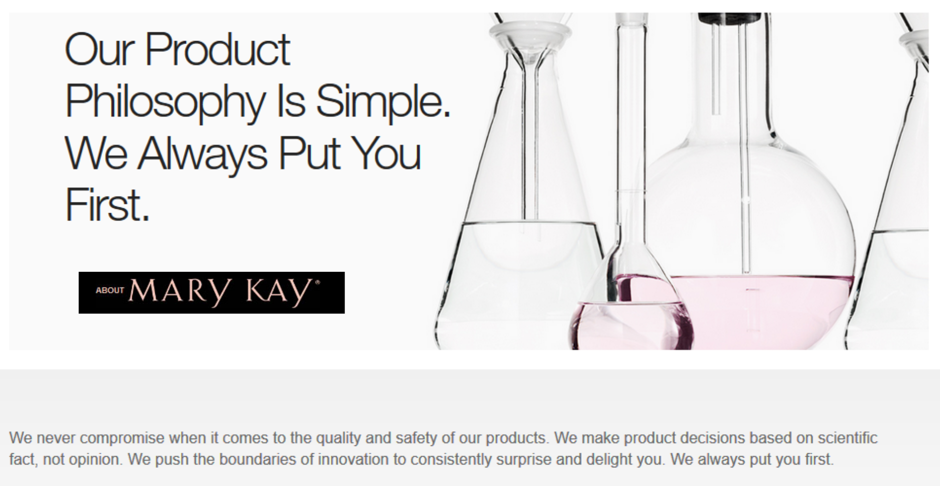 About Mary Kay