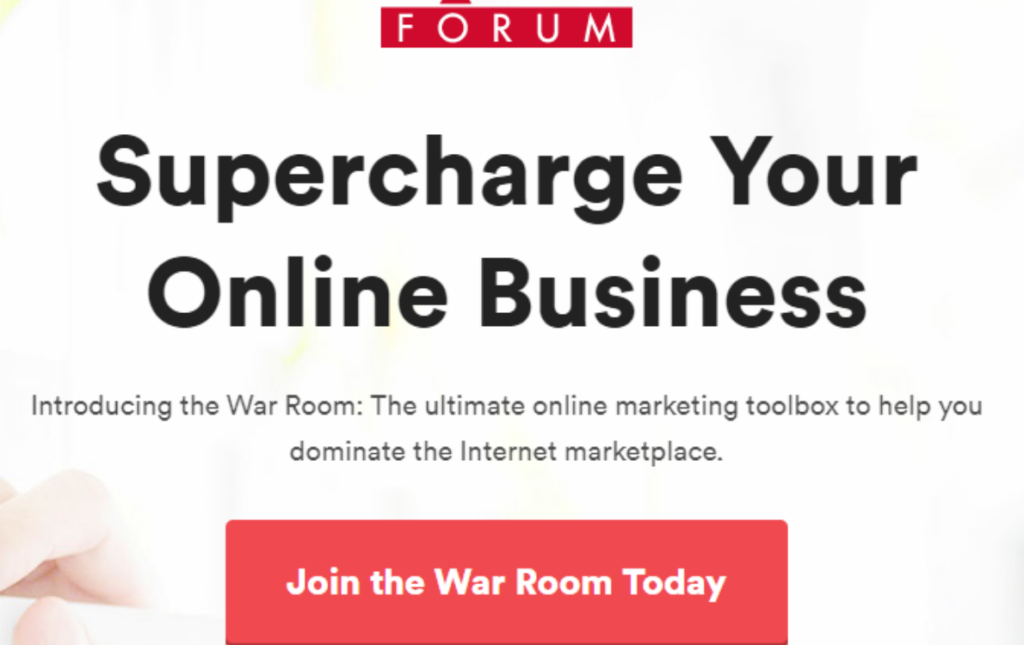 Warrior Forum Super Charge Your Online Business
