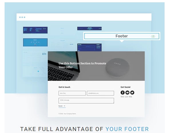 Thrive Theme Builder Take Full advantage of Your Footer