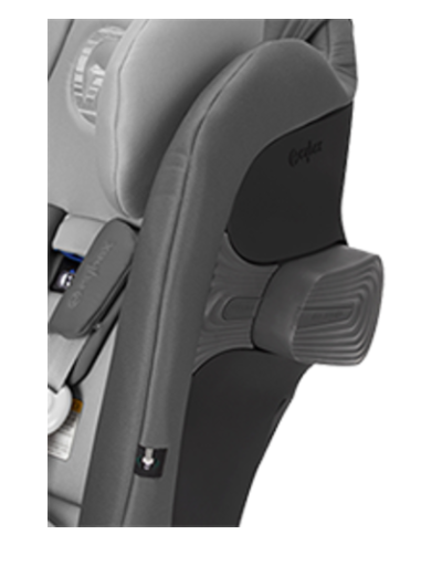 Cybex Eternis S SensorSafe Car Seat - Intregrated Linear Side-Impact Protection