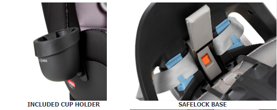 Cybex Eternis S SensorSafe Car Seat - Safety Base