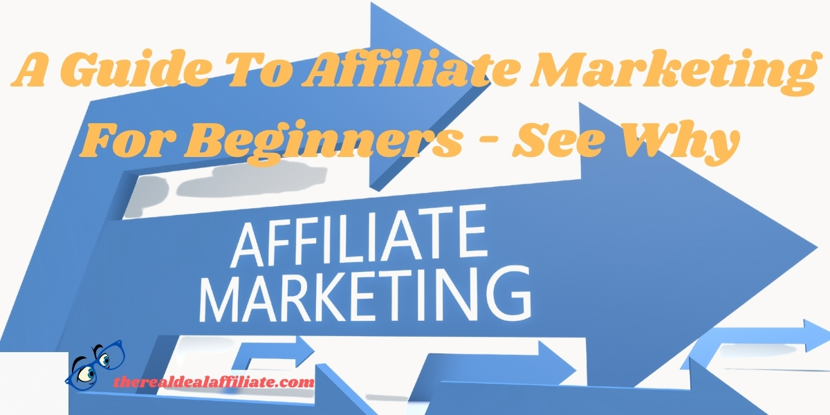 A Guide To Affiliate Marketing For Beginners - See Why The Real Deal Affiliate