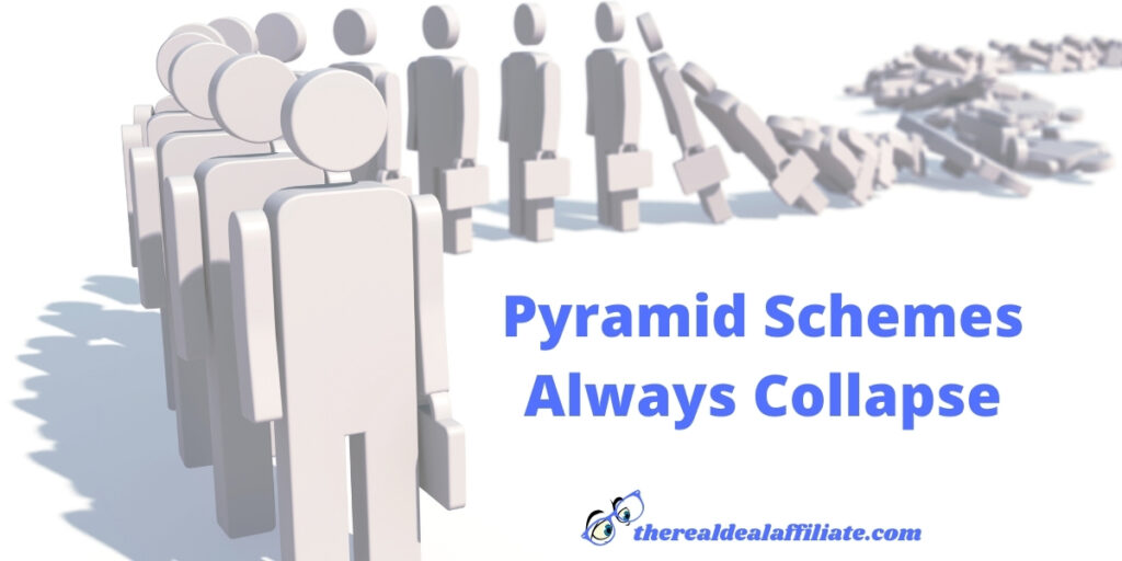 Pyramid Schemes Always Collapse Secret Five Red Flags To Pyramid Schemes
